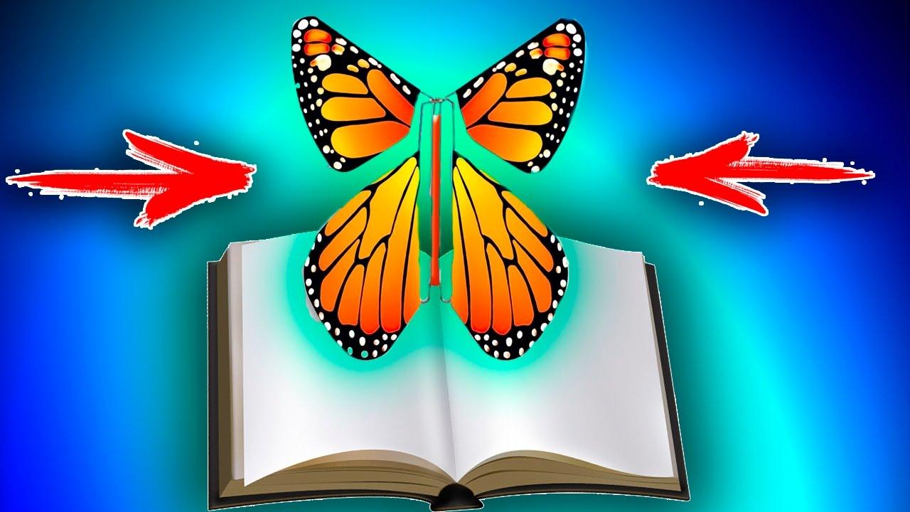 Лайфхаки как сделать бабочку