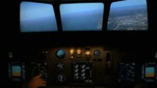 Полет на Авиасимуляторе Боинг 737 Нью Йорк Часть 1(, 2009-07-02T05:41:33.000Z)