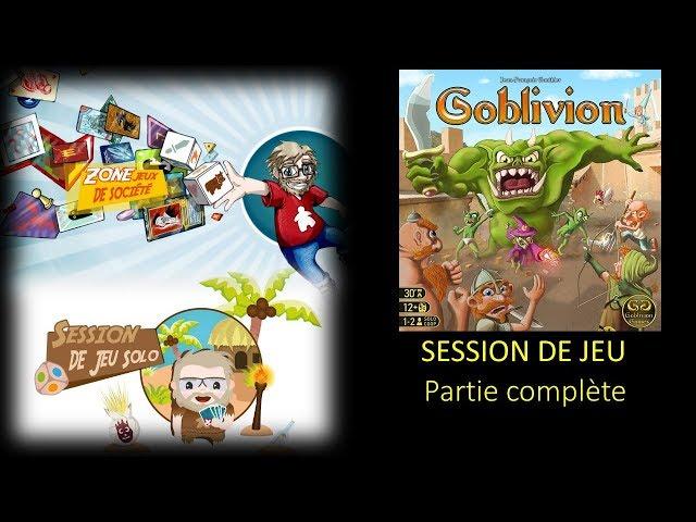Session de jeu solo de Goblivion - Épisode complet