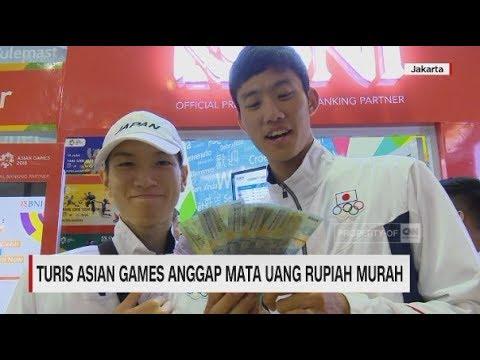 Turis Asian Games Anggap Mata Uang Rupiah Murah II CNN ID Update