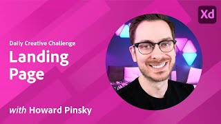 XD Daily Creative Challenge - Landing Page