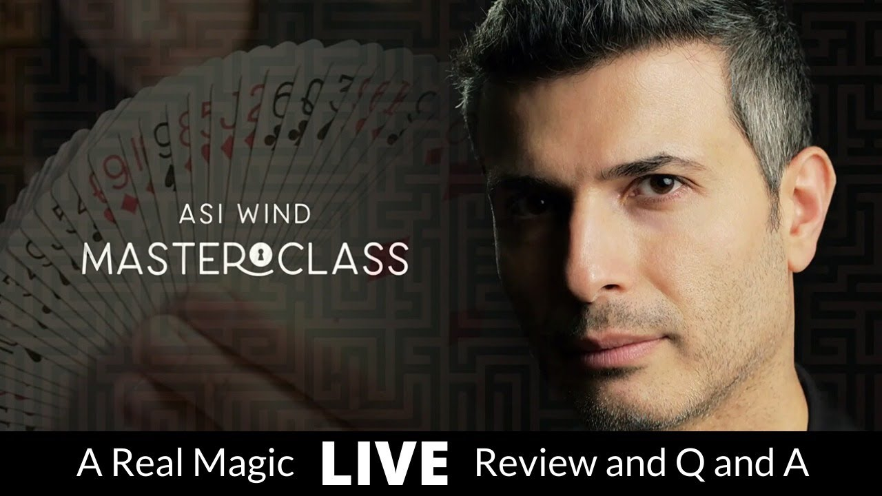 Asi Wind Masterclass (Part1) Live Review and Q and A - YouTube