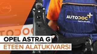 OPEL ASTRA Jarrun työsylinteri vaihto: ohjekirja