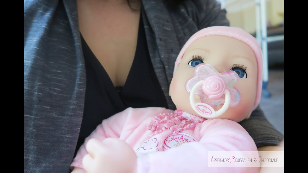 Baby Annabell, unboxing en review - YouTube