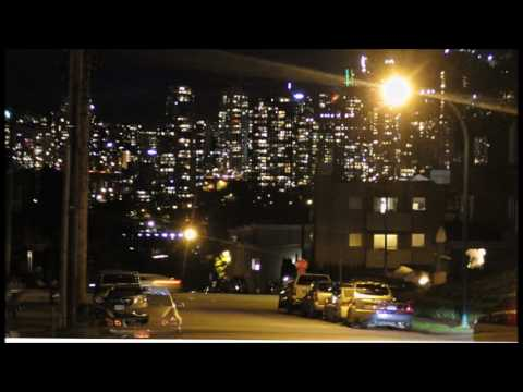 Time-lapse of Vancouver, B.C. skyline from Alder Street: May 5-16, 2017
