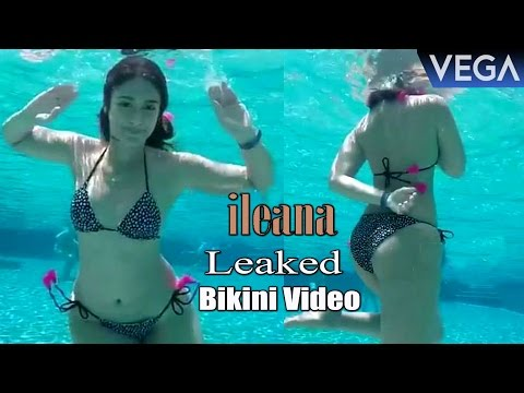 Ileana D'Cruz Bikini Swimming Pool Video Leaked || Latest Celebrity Gossips
