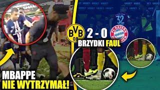 Kylian Mbappe ODEPCHNĄŁ Neymara! SKANDALICZNY faul Kimmich'a! SUPERPUCHAR Niemiec!