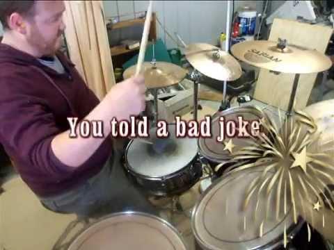 Ba Dum tss. For a bad joke.