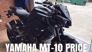mT-10 YAMAHA  PRICE IN THE PHILIPPINES