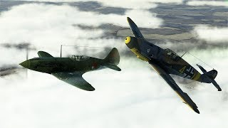 IL-2 Sturmovik: Battle of Moscow Career: Heinrich Kruger II Ep.3 - Escorting 109s in 109s