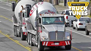 Cement Mixer for Children | Truck Tunes for Kids | Twenty Trucks Channel | Ready-Mix Concrete Truck