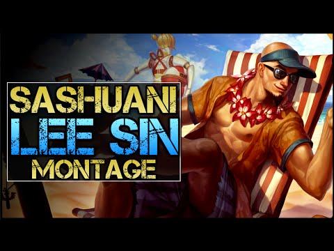 Sashuani Lee Sin Montage - Best Lee Sin Plays