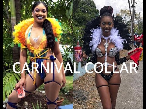 DIY : CARNIVAL FEATHER COLLAR