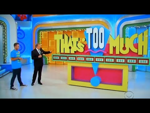The Price is Right - That's Too Much - 3/8/2018