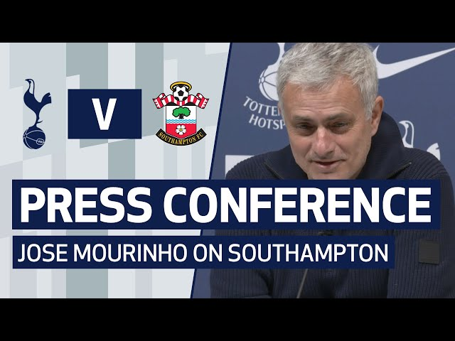 PRESS CONFERENCE | JOSE MOURINHO PREVIEWS SOUTHAMPTON CUP CLASH