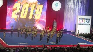 Top Gun Large Coed 2019 Cheerleading Worlds