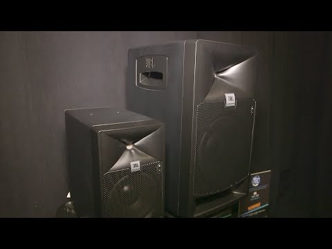 JBL 7 Series Powered Studio Monitors - AES 2017