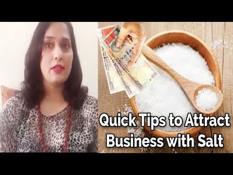 How to use SALT to Attract more Money and Business | Divyaa Pandit