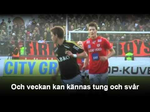 Kalmar FF:s nya låt till Guldfågeln Arena en streaming