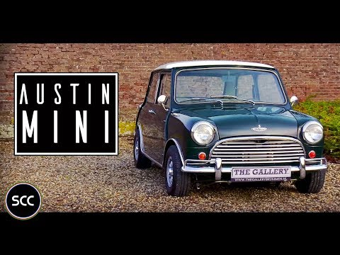 AUSTIN MINI COOPER S 1968 - Modest test drive - Engine sound | SCC TV