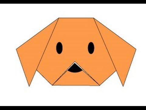 Origami Köpek Yapımı Youtube