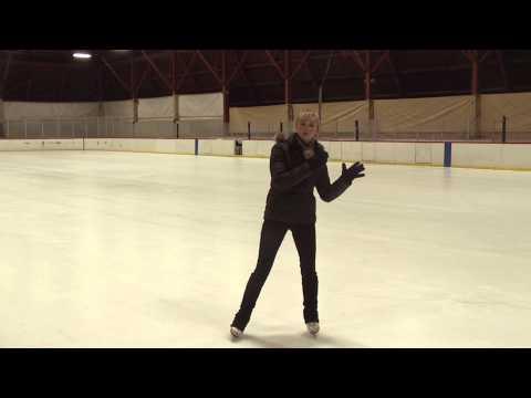USFSA Basic Skills: 2A - Forward one-foot glides