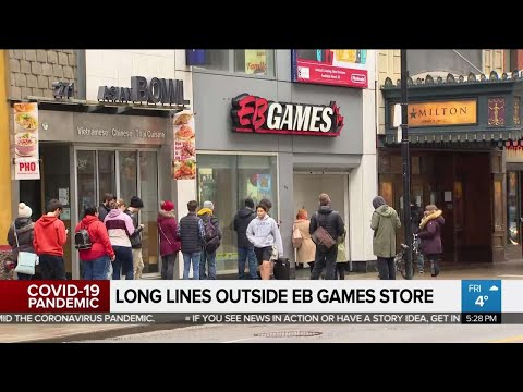 Business Report: Lineup At EB Games Store Sparks Anger