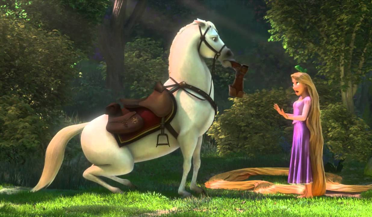 rapunzel and flynn meet maximus jobs