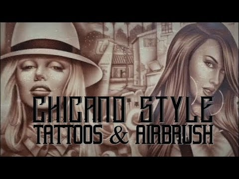 Chicano Style Tattoos & Airbrush - Amazing Artist