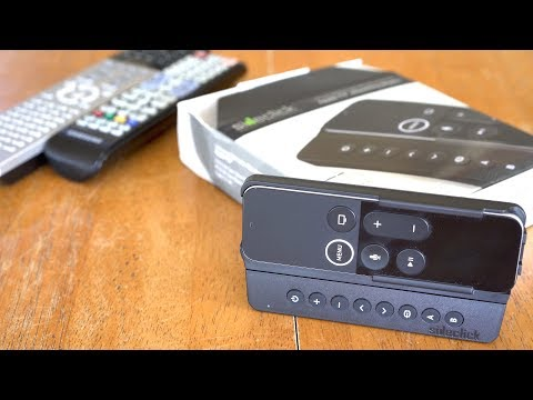 Sideclick - Apple TV / Roku / Amazon Fire TV Universal Remote - Unboxing and Programming