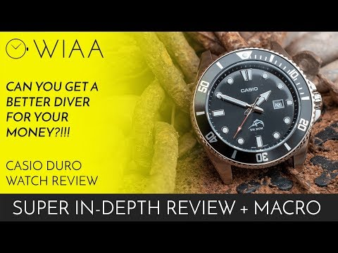 Is there a better diver for your money?! Casio Duro MDV-106 Watch Review