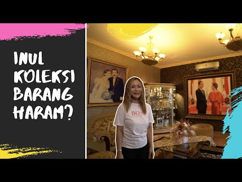 ROOM TOUR - Inul Koleksi Barang Haram ??