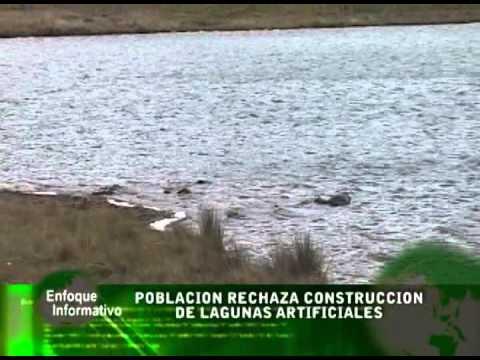 Poblacion rechaza construccion de lagunas for Lagunas artificiales construccion