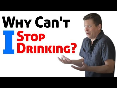 Alcoholism: the two foot drop and why you can't stop drinking