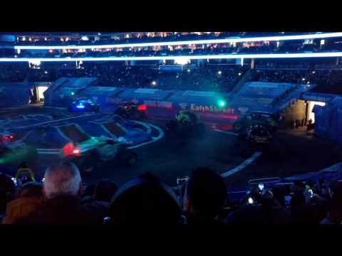 Monster jam intro ...2017 Prudential center