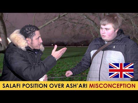 Ashari Asking Shamsi About The Attributes Of Allah According To The Salaf | Speakers Corner