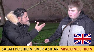Ashari Asking Shamsi About The Attributes of Allah According To The Salaf | Speakers Corner