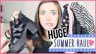 HUGE Summer Haul! Topshop, Urban Outfitters, + more!