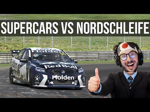 How Fast Can A V8 Supercar Lap The Nordschleife?