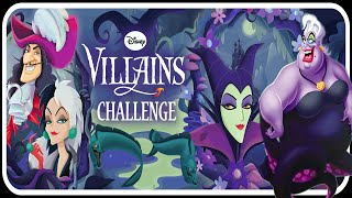 ♡ Disney Villains Challenge ♡ Amazing Game App for Kids