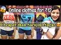 I BOUGHT CLOTHES ONLINE FOR rs12 | CHEAPEST HAUL EVER |Cheaper than Sarojini Nagar haul | Nukhrewali
