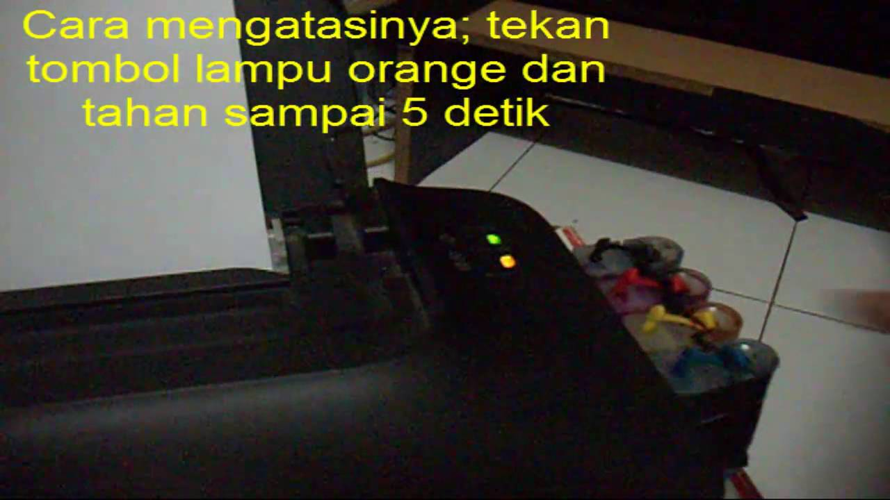 Cara Mengatasi Printer Canon Lampu Orange Berkedip Kedip Atau Blinking Youtube