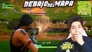 SECRET METHOD TO BE IMMORTAL IN FORTNITE!! METERS UNDER THE MAP!! THE BEST BUG TO WIN!