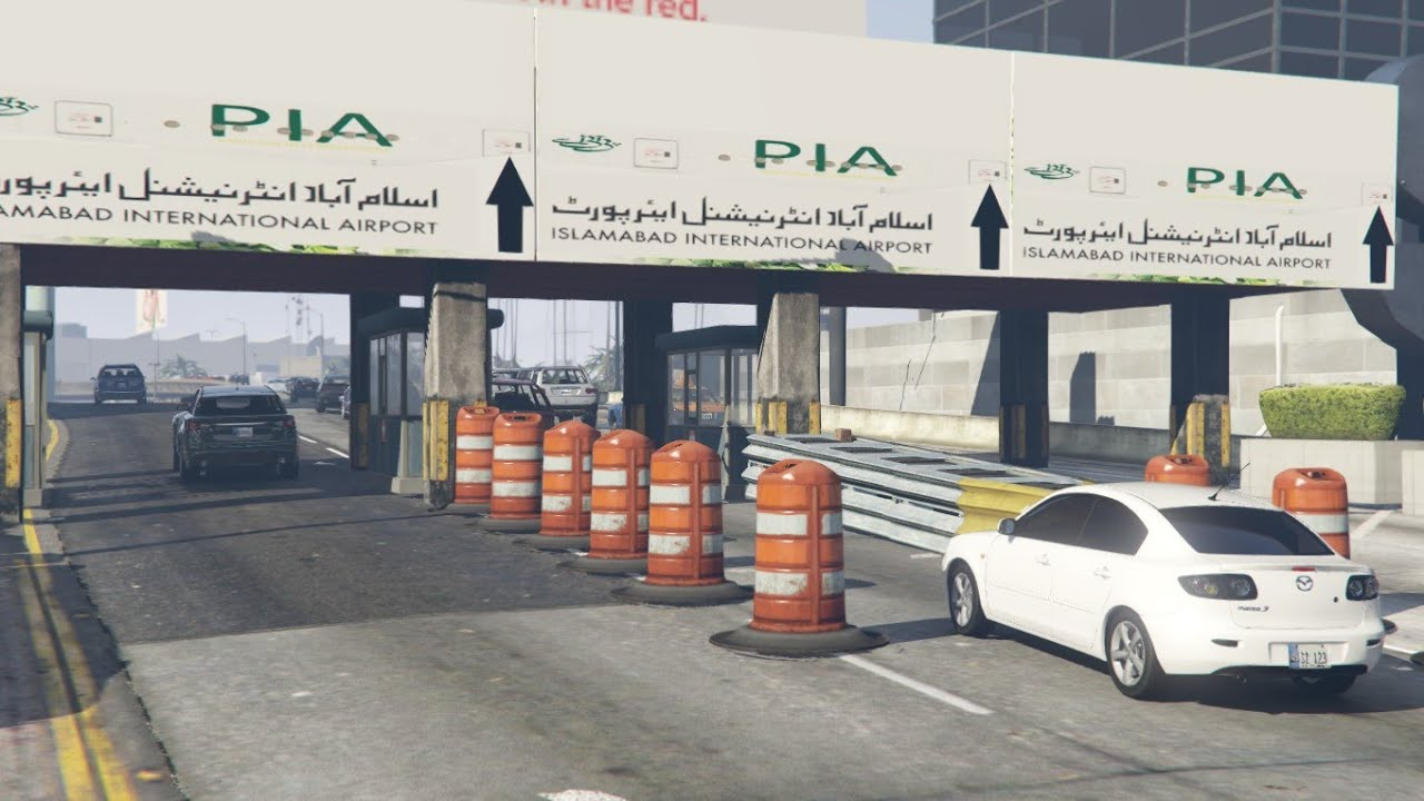 #58 | Islamabad International Airport | Gta 5 Pakistan | Test Drive For Mazda | New Car | Speed Test