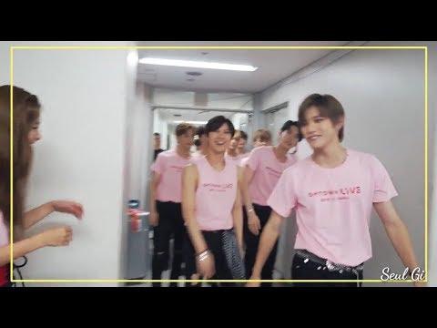 180808 NCT 엔시티 Taeyong & RED VELVET 레드벨벳 Seulgi cute moment (Seulyong)