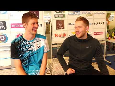 2017-11 Badminton - Rozhovor 4. Ostravský kanár SINGLY A - Vojta Klimek