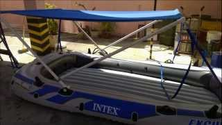 Intex Excursion 5 - Ensamble , Modificacion y Prueba / Assembly, Modification and Test