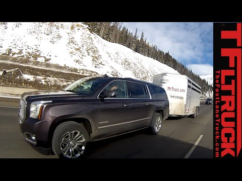 2015 GMC Yukon Denali vs. Lincoln Navigator vs the Ike Gauntlet Towing Test (Part 2)