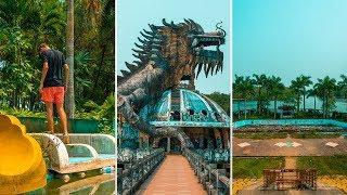 Exploring an ABANDONED WATERPARK in VIETNAM! Vietnam Travel Vlog 🇻🇳