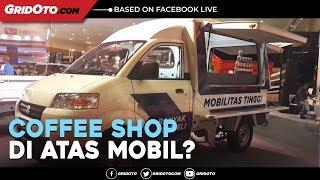 Ingin Punya Usaha Coffee Shop Di Atas Mobil? Intip Yuk Modifikasi Mobil Suzuki Ini